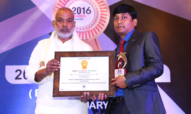 24mrc Leaders Award 2016 In Small and Medium Sized Enterprise Of The-Year (IT)